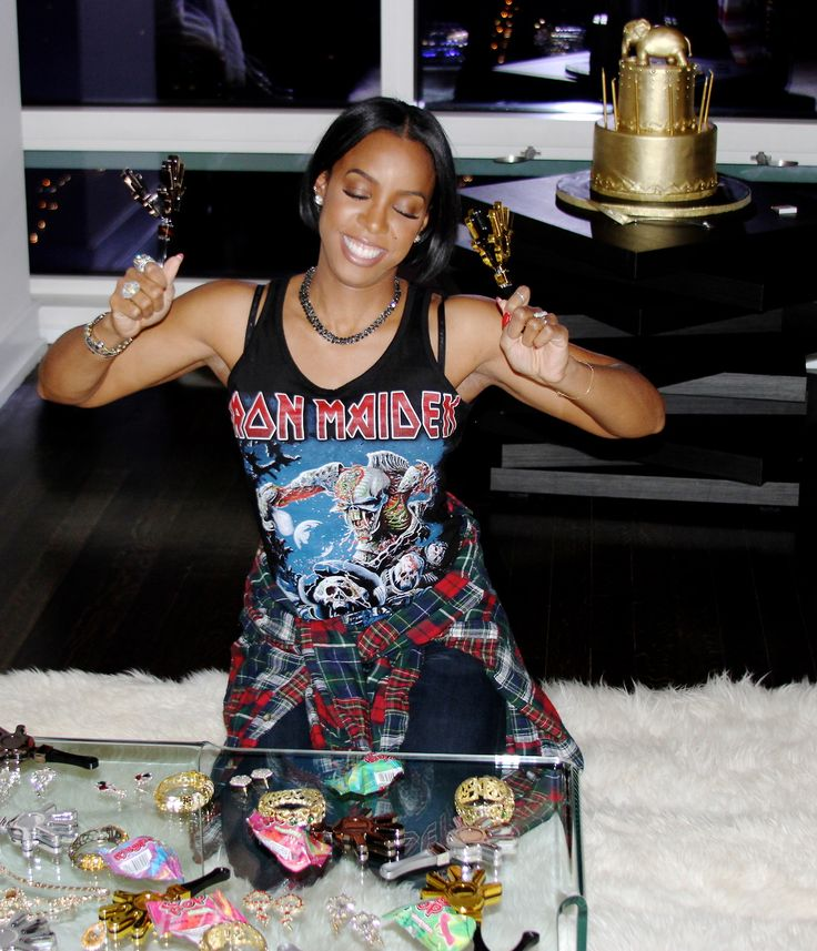 Kelly Rowland's 33rd Birthday