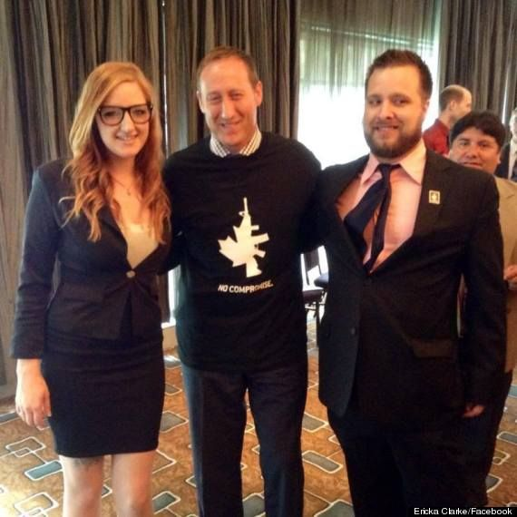 Peter MacKay wears a t-shirt from a group that hopes to repeal Canada's gun laws. The group is Canada's answer to the American NRA. importing US problems, thanks Peter MacKayCanadian asshole of the day