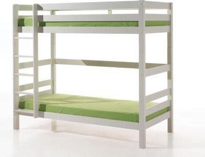 Vipack Furniture Etagen-Hochbett Pino 182 cm, weiß Jetzt bestellen unter: https://moebel.ladendirekt.de/kinderzimmer/betten/hochbetten/?uid=91f54b1d-313c-5e7f-a827-552f93f5bcb1&utm_source=pinterest&utm_medium=pin&utm_campaign=boards #kinderzimmer #kleinkindmöbel #hochbetten #betten