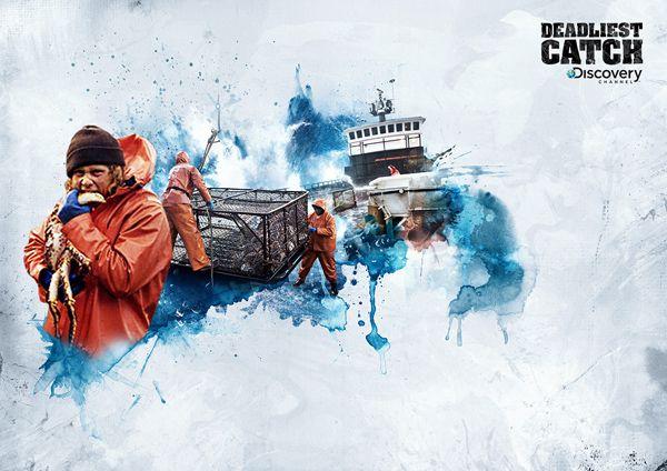 Discovery Channel — Deadliest Catch on Behance