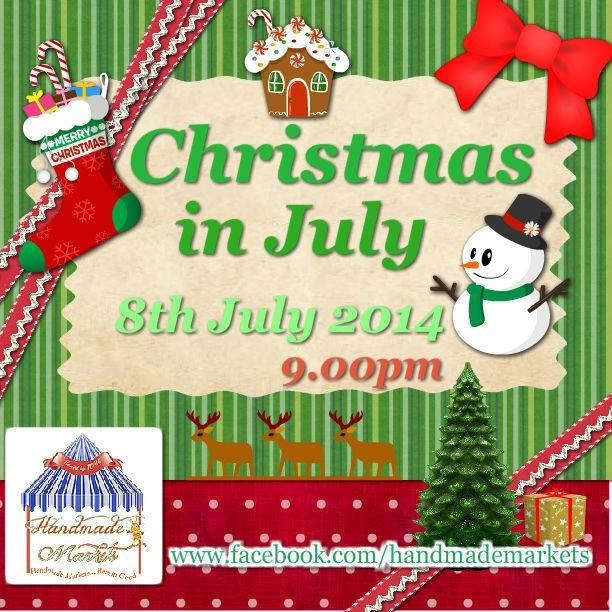 Christmas in July Market opens Tuesday 8th July 9pm EST