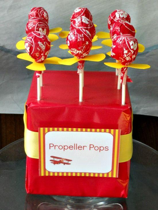 propeller pops favors