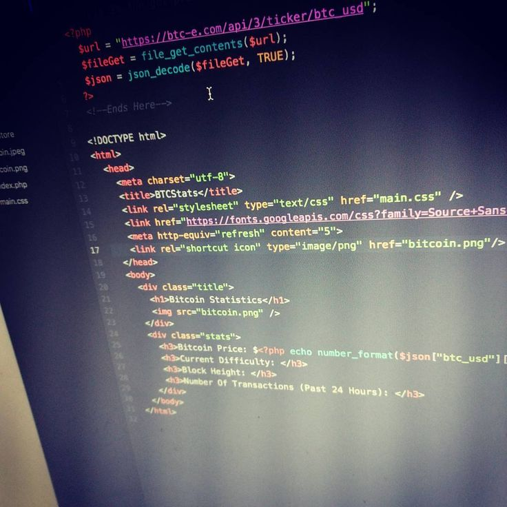 building my simple bitcoin statistics page using php and a lot of apis code