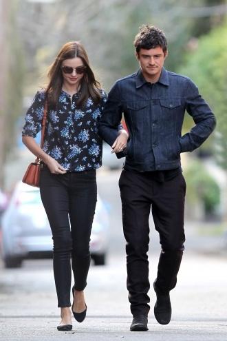 Orlando Bloom and Miranda Kerr Experience the Chiswick