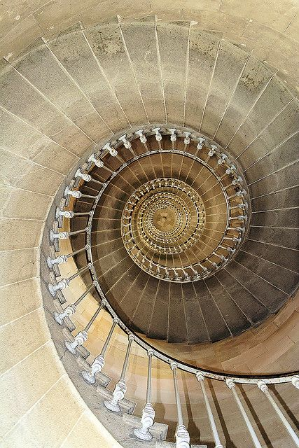 stairs #8    		in the Whales lighthouse, Ré Island, France