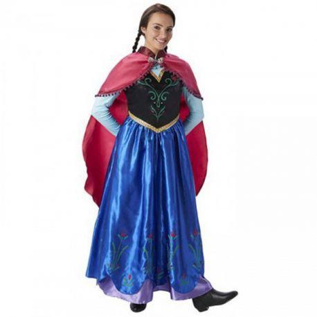 #Disfraz #Anna #Frozen Adulto Perfecto para tus fiestas, mercadisfraces tú #tienda de #disfraces #online