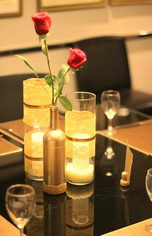 Decoração: Jantar romântico e econômico para o Dia dos Namorados
