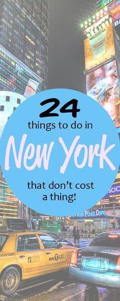 20 kostenlose Aktivitäten in New York City – #Akt…