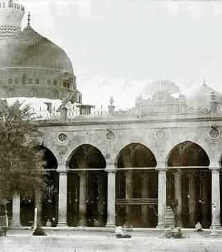 Masjid Nabawi (somehow in the past)