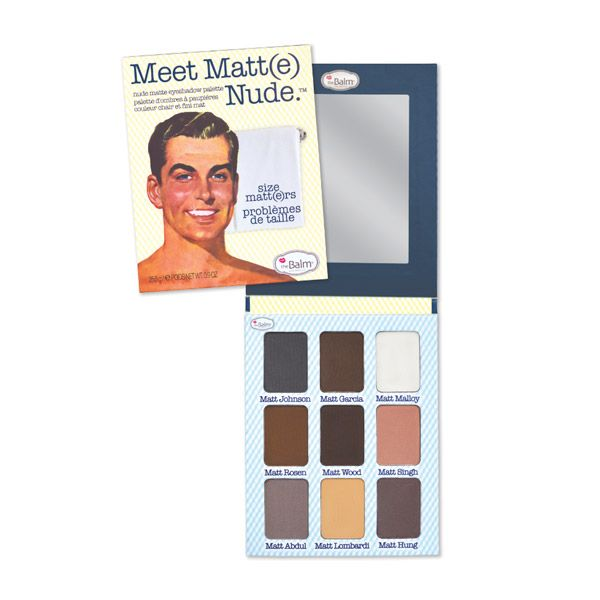 THEBALM® COSMETICS MEET MATT(E) NUDE™- One of my all time favorite eyeshadow palettes.