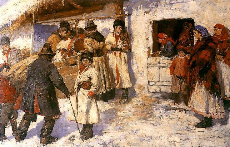"""Włodzimierz Tetmajer, """"Przed karczmą"""", 1893."""