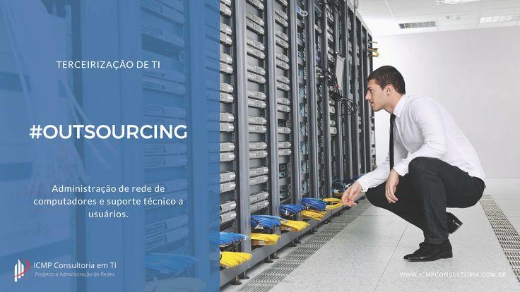 Terceirização de TI para empresas de todos os portes e segmentos.