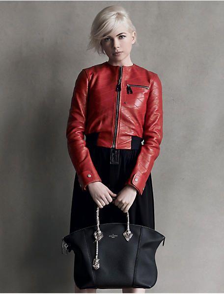 Сумка Lockit и Мишель Уильямс - Louis Vuitton Мода NEWS