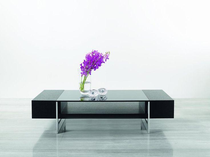 Best Modrest Glen Modern Black Oak Coffee Table Coffee 400 x 300