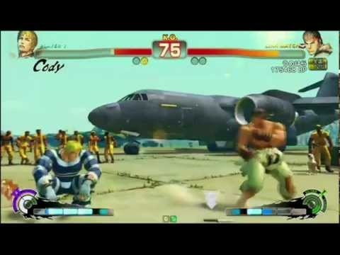 Super Street Fighter 4 AE 2012 - Momochi (Cody) vs Daigo Umehara (Ryu) - SBO 2012 Special Qualifier (Loser's Bracket) #SSF4