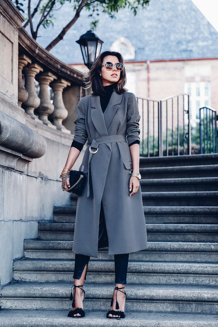 My obsession with trench coats continues... The one I'm wearing today's post is my latest find and probably one of my favorites at the moment! Perfect in every way, from fit and color, I especially li