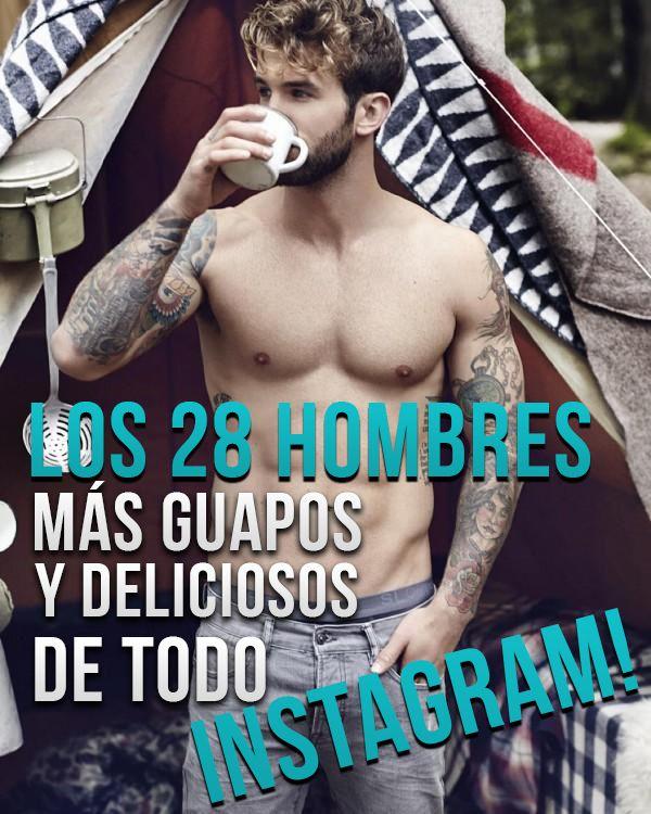 Los 28 Hombres MÁS GUAPOS y DELICIOSOS de TODO INSTAGRAM