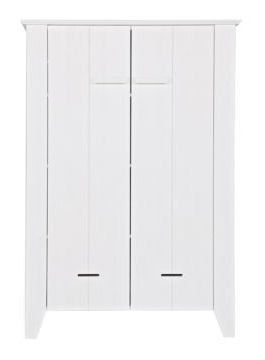 LEF collections Kast 'Joep' wit grenen 142x100x38cm