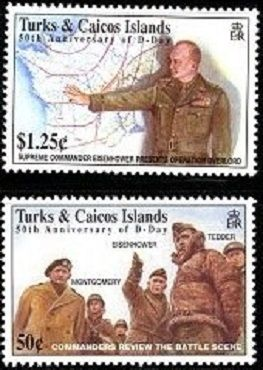 16 января 1944 г. американский генерал Дуайт Эйзенхауэр назначен главнокомандующим Экспедиционными силами союзников, призванными открыть второй фронт против фашистской Германии в Нормандии...