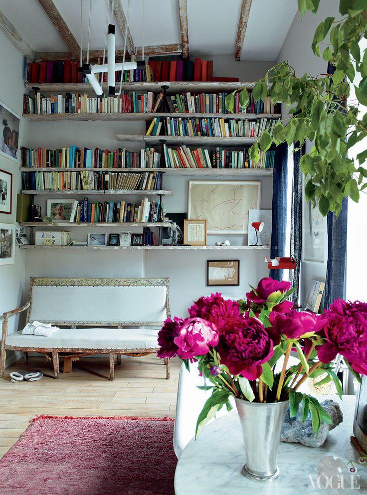 VOGUE: Miranda Brooks and Bastien Halard's Brooklyn home