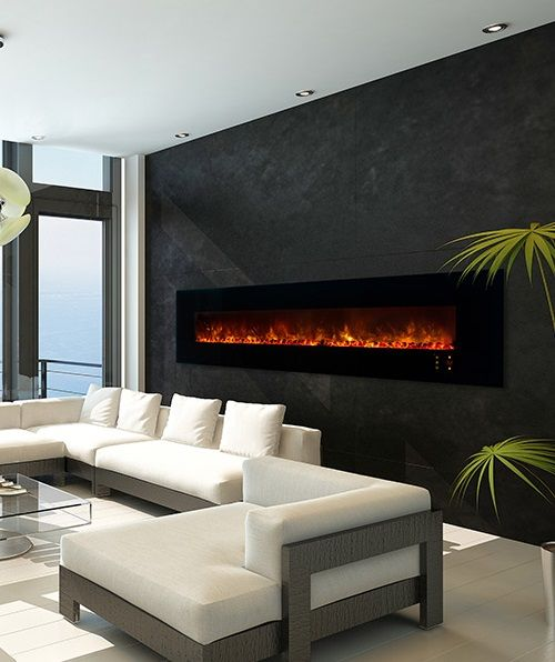 291 best electric fireplaces images on pinterest fire places fireplace ideas and corner - Contemporary linear fireplaces cover idea ...
