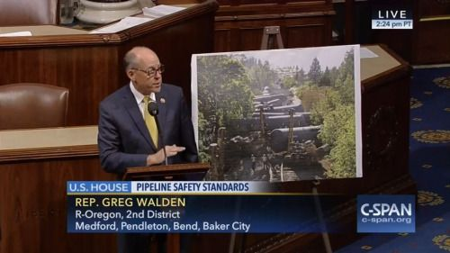 Who: Representative Greg Walden (R-Oregon) When: June 2016 What:...