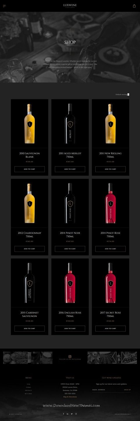 Luxwine is clean and modern design 3in1 responsive #WordPress theme for vineyard, winery, #wine and #liquor #shop website download now..