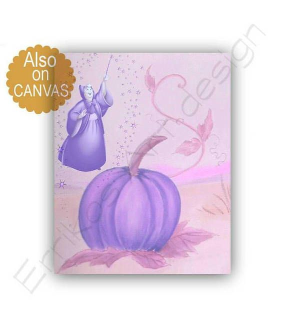 Princess Cinderella Pumpkin Art Cinderella's Fairy