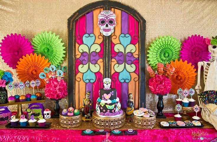 Dia de los Muertos Halloween Party Ideas | Photo 8 of 38 | Catch My Party