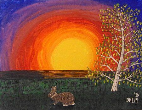 Whimsical Evening by David Manicom