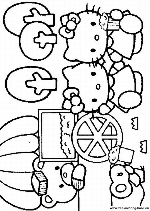 77 best images about coloriages images hello kitty on pinterest hello kitty christmas - Coloriage hello kitty ...