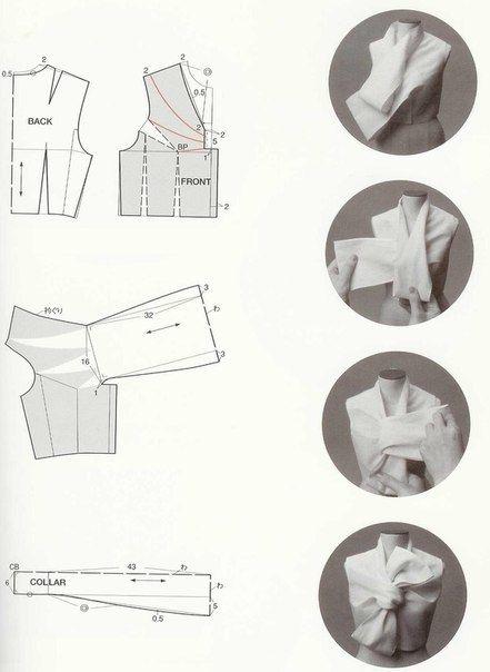Подборка креативных выкроек (из японских книг)