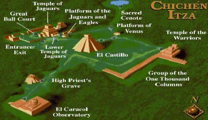 Chichen Itza facts - Yucatan, Mexico – Chichen Itza architecture, Mayan pyramids, Cenotes, Hotels. Chichen Itza's wildlife: flora and fauna. Places to visit in Chichen Itza, Yucatan, Mexico.