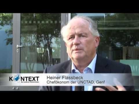 Wie die Regierung Merkel die Eurokrise verschärft - Prof. Dr. Heiner Flassbeck, UNO-Ökonom zur Eurokrise | Kontext TV (22:29)