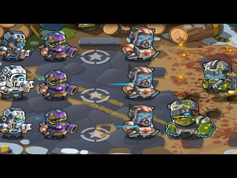 Final BOSS Elite Squad 2 HARD level 15 Full Victory Walkthrough gameplay (TD game)