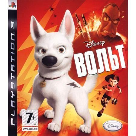 Disney Pixar Вольт Игра для PS3  — 1499 руб. —  Красочная, динамичная и остроумная аркада, приуроченная к выходу одноименного мультфильма студии Disney, предоставит вам возможность узнать всю правду о собаке с именем Вольт.По сюжету кино собака-телезвезда по настоящему верит в реальность своего телешоу и поистине считает себя супергероем, хотя на самом деле ничего особенного в нем нет. Но в игре - с точностью до наоборот! Симпатяга Вольт к радости своих юных поклонников предстает настоящим…