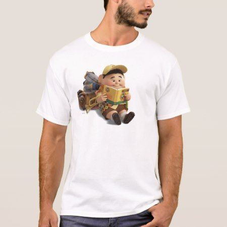 Russell from the Disney Pixar UP Movie T-Shirt - tap, personalize, buy right now!