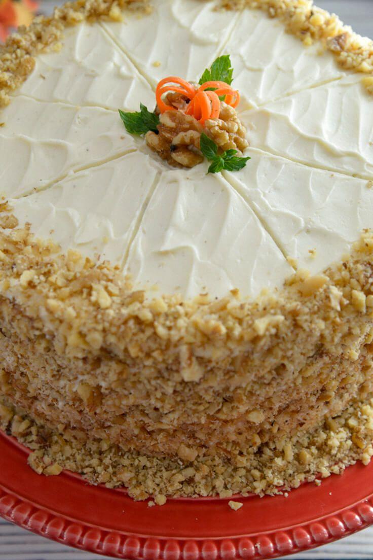 Carrot cake recipe amazing carrot cake recipe carrot