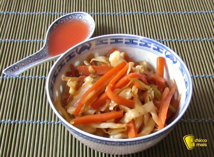 Verdure saltate alla cinese, ricetta. Ricetta facile e veloce delle verdure saltate nel wok con salsa di soia, ideali come ripieno per involtini primavera