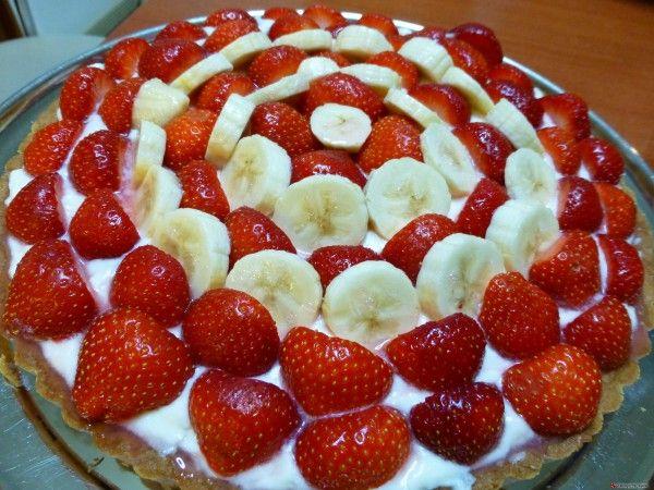 Τάρτα φράουλας 2 #sintagespareas #tartafraoulas #fraoules