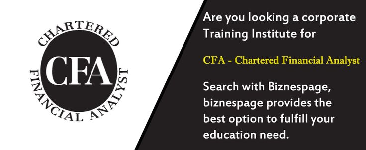 The CFA Program course of study includes the Candidate...........know morw at ‪#‎biznespage‬ http://www.biznespage.com/category/cfa-chartered-financial-analyst/