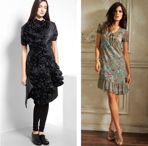 Тип платья и особенности