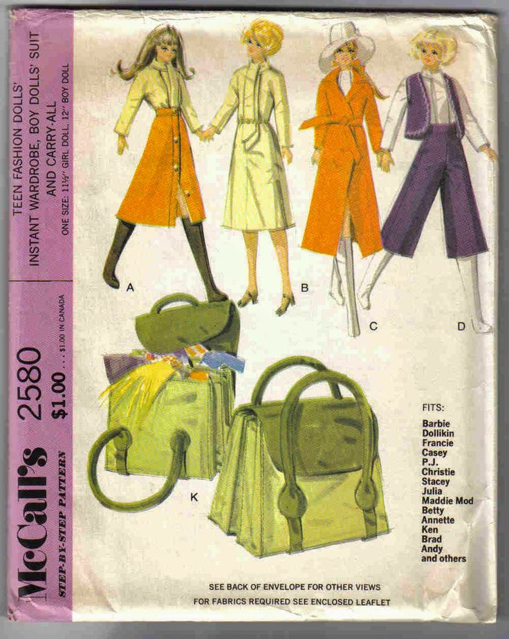 128 best My Collection of Doll Sewing, Knitting & Crochet Patterns ...