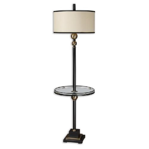 Revolution Floor Lamp With Tray Uttermost Table Lamps