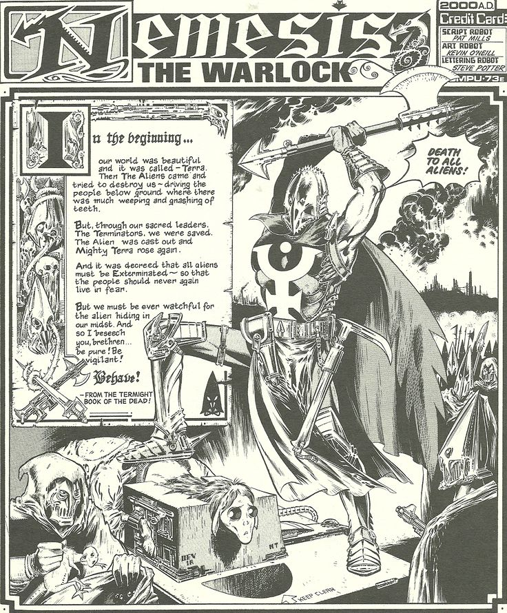 the leadpile: Nemesis the Warlock Vs 40K