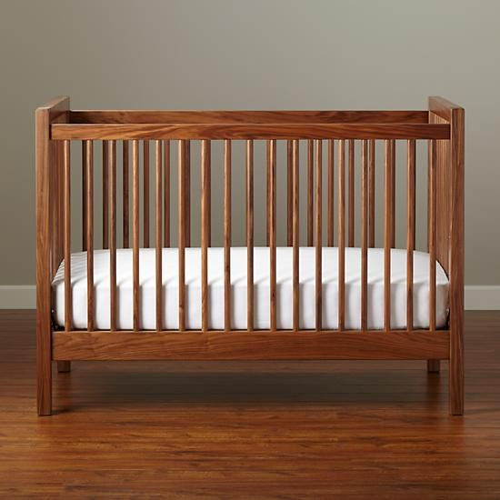 Beautiful American Walnut Andersen Baby Crib Lovely - Model Of Best Baby Cribs Contemporary
