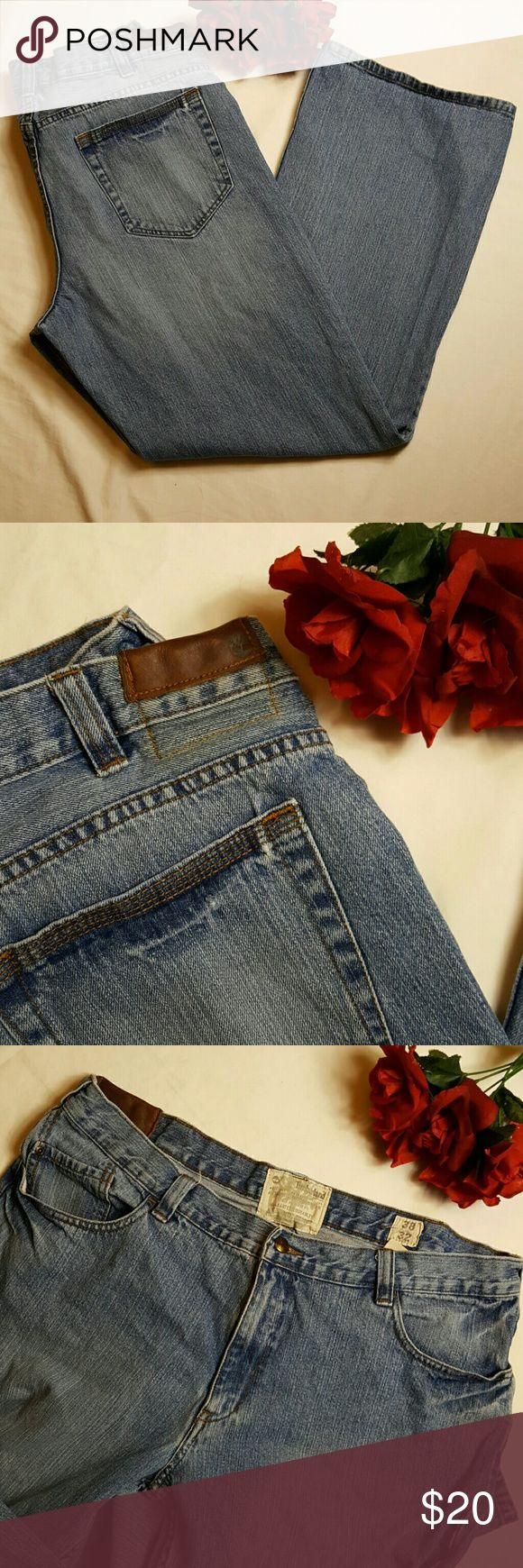 """Timberland Men's Jeans Gently worn. Approximate Measurements: Waist: 38"""" Inseam: 32"""" Timberland Jeans Straight"""