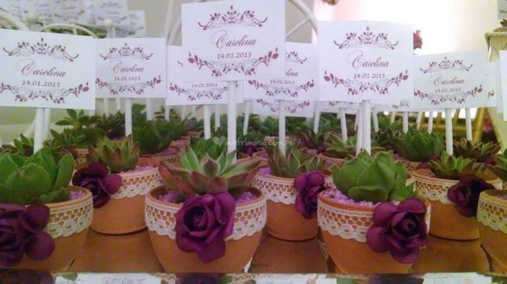Suculentas decoradas de Concientizarte | Foto 4 recuerdo, regalo, boda, matrimonio, plantas, ecológico