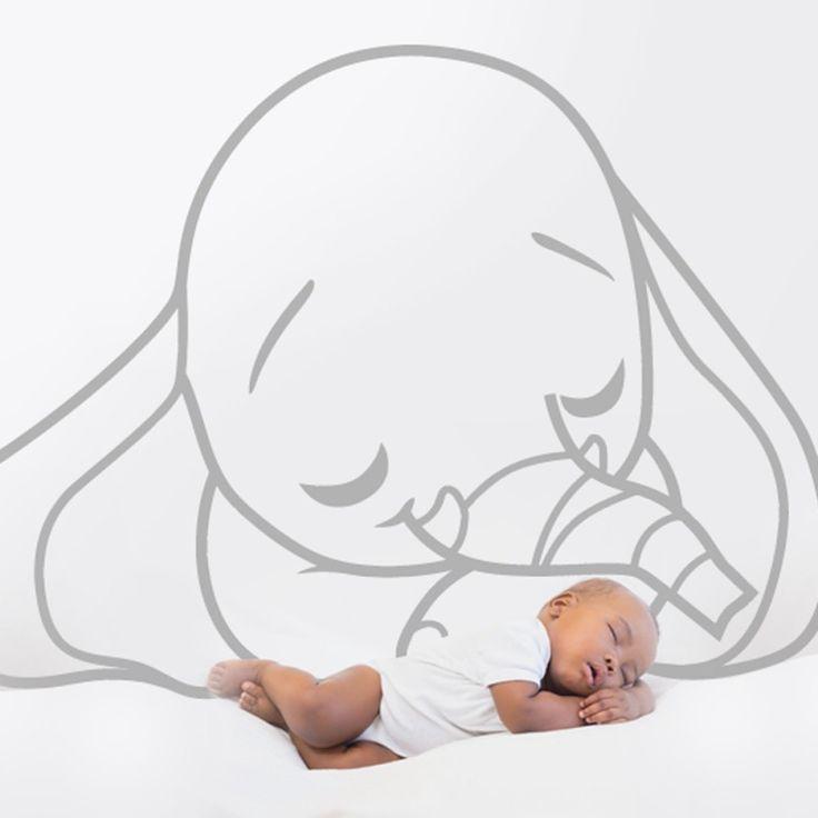 Stickers elephant tout mignon, Stickers Enfant - Deco Soon