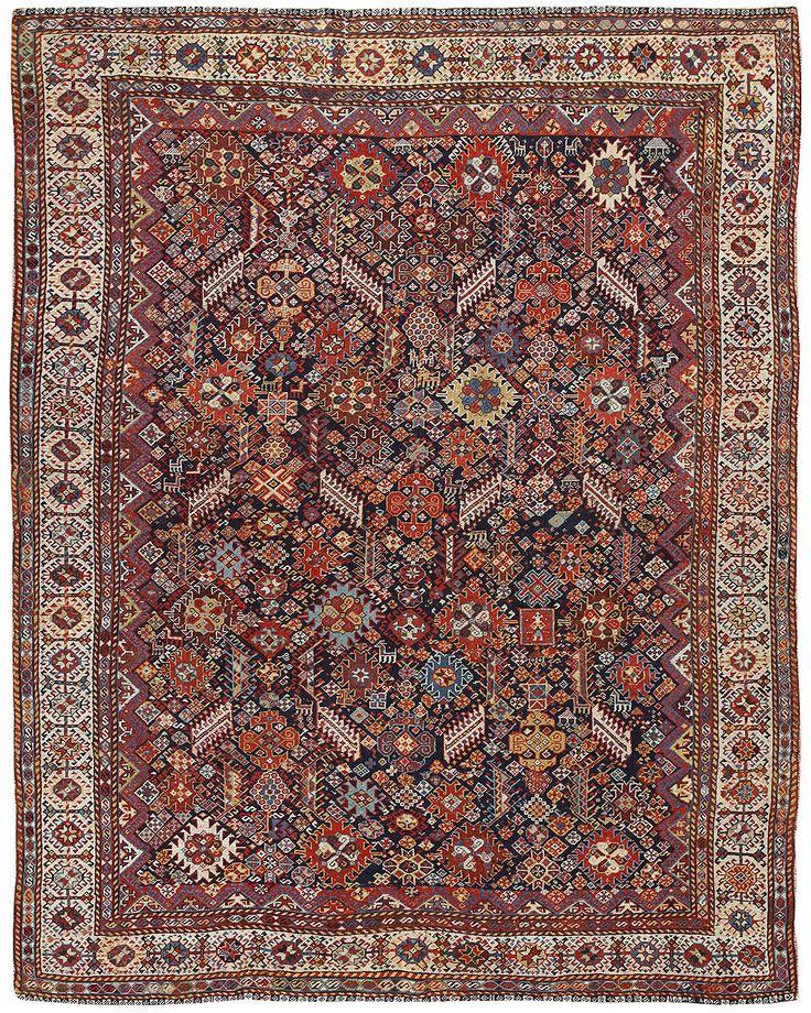 Antique Persian Ghashghai Rug 47266